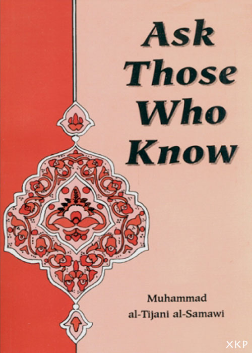 Ask Those Who Know