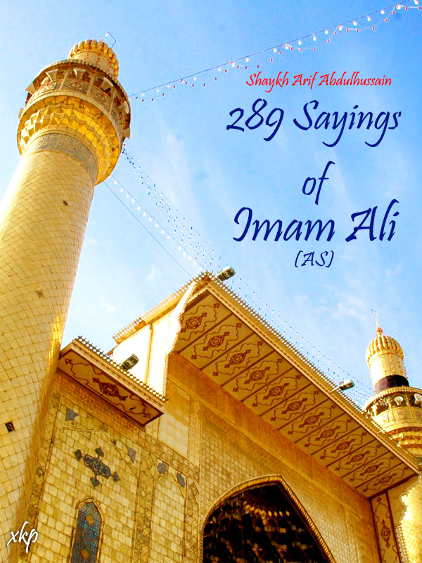 289 Sayings of Imam Ali