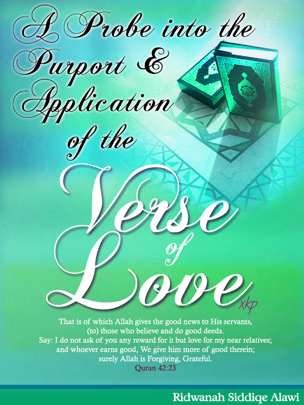 A Probe into the Purport and Application of the Verse of Love