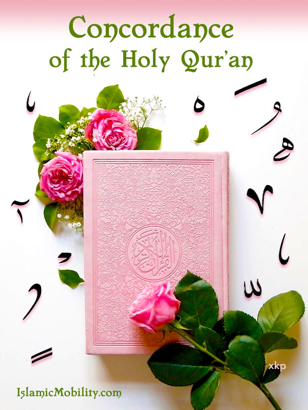 A CONCORDANCE OF THE QURAN