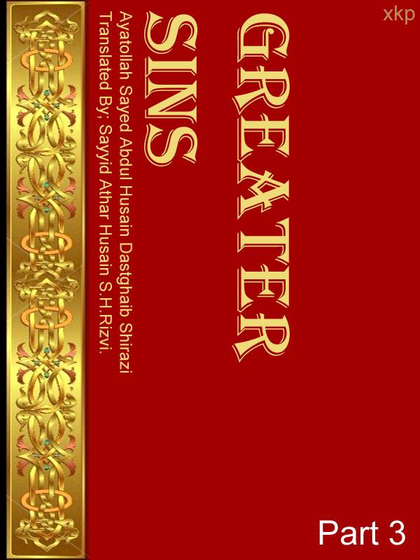 Greater Sins  Gunah-E-Kabira Vol 3