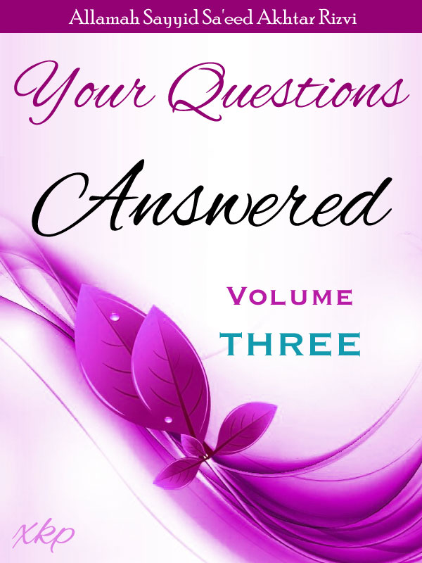 Your Questions Answered - Volume 3