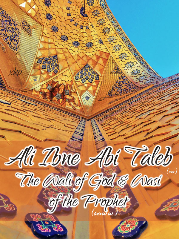 Ali Ibne Abi Talib (as) The Wali of God and Wasi of the Prophet (saww)